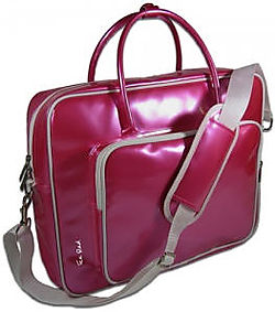 Shine_Glossy_Laptop_Bag_Ice_Red
