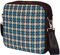O Yikes Square Laptop Bag Turquoise