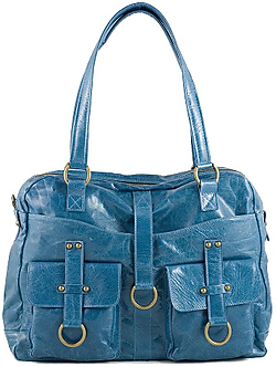 Urban Junket Maxine Laptop Bag Blue