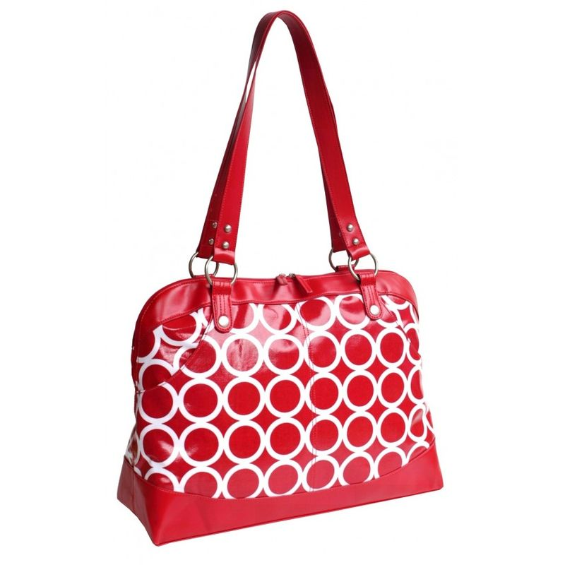 Laptopsatchel_redcircles_kc0961