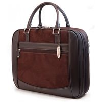 Mobile edge scan fast brown suede