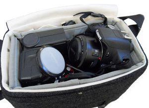 Mari forssell camera messenger black interior
