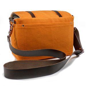Mari forssell camera messenger orange back