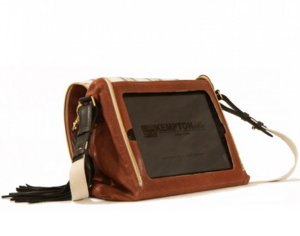 Kempton and co ipad handbag back