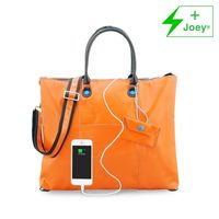 Urban junket convertible tote with charger