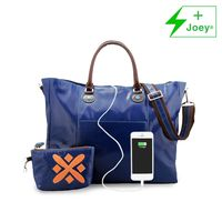 Urban junket 15 with charger indigo